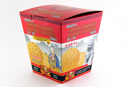 Almond Flavoured Cookies - Box