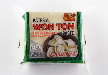 Won Ton Paste - Regular Style
