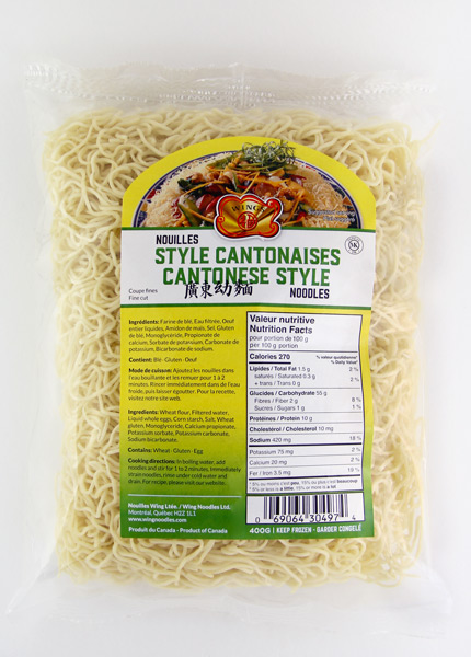 Cantonese Style Noodles