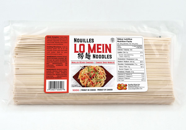 Chinese Lo Mein Noodles